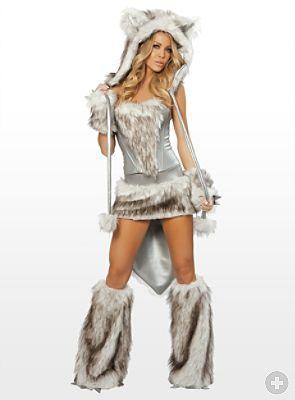 Wölfin - (Kostüm, Karneval)