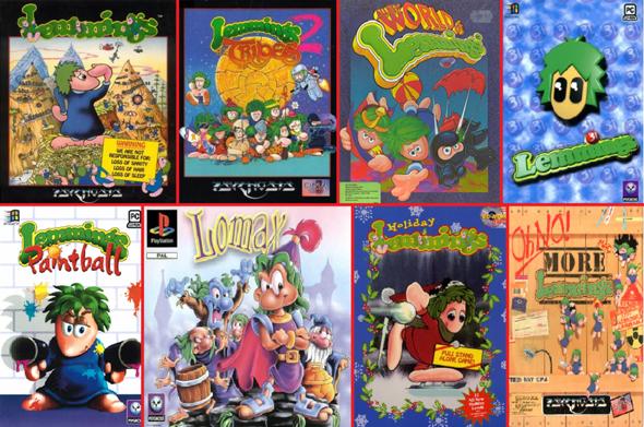 """Welches der """"Lemmings"""" Videospiele mögt/mochtet ihr am liebsten?"""