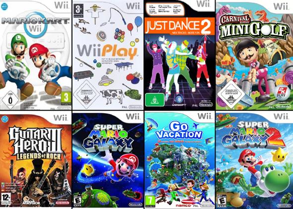 """Welches der """"Nintendo Wii"""" Videospiele mögt/mochtet ihr am liebsten?"""