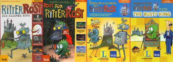 """Welches der """"Ritter Rost"""" PC-Spiele mögt/mochtet ihr am liebsten?"""