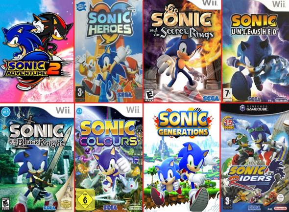 """Welches der """"Sonic"""" Videospiele mögt/mochtet ihr am liebsten?"""