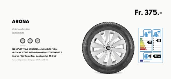 Welches Felgensilber für originale SEAT Arona Felgen?
