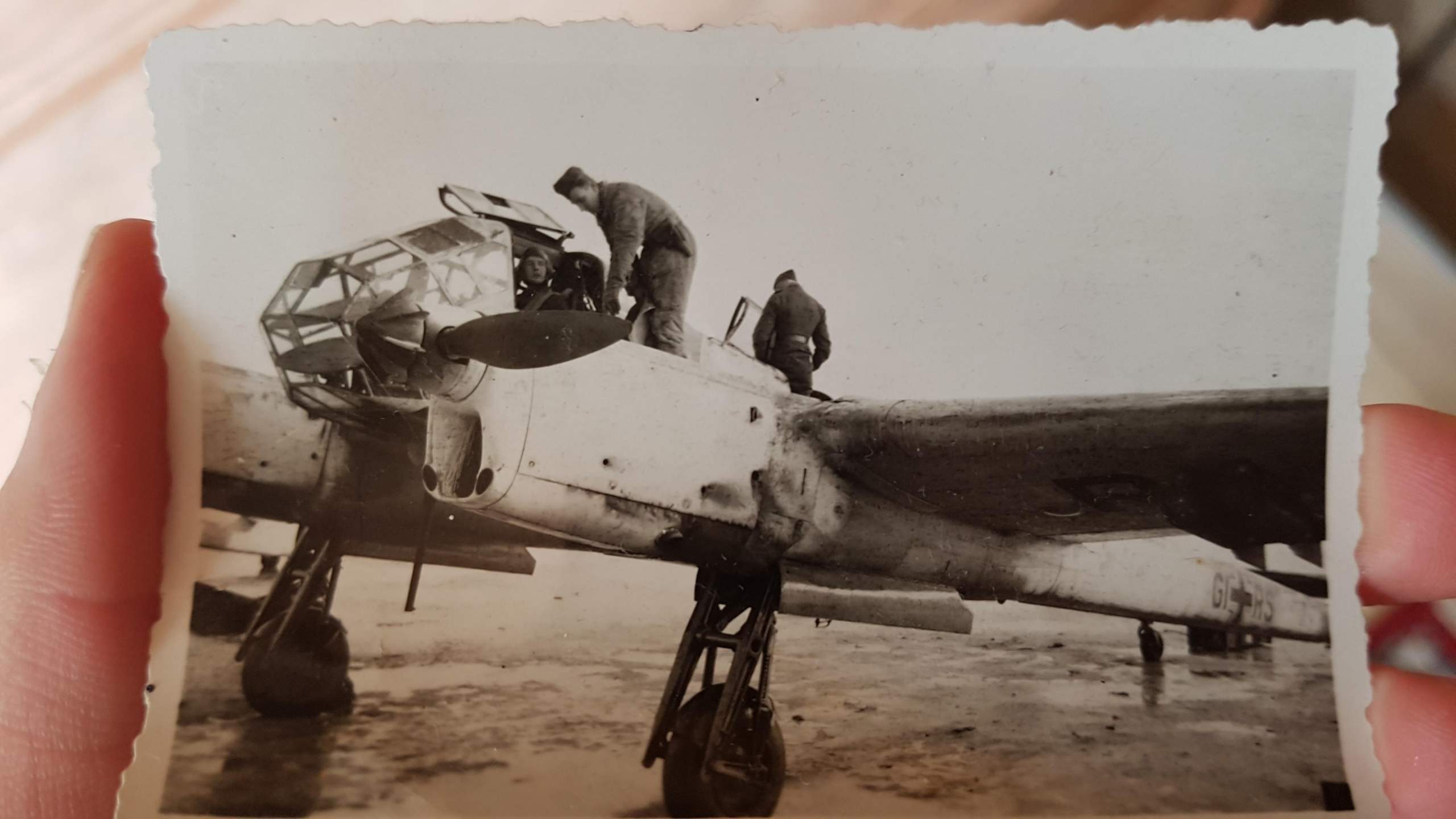 Welches flugzeug könnte das sein? (2. Weltkrieg