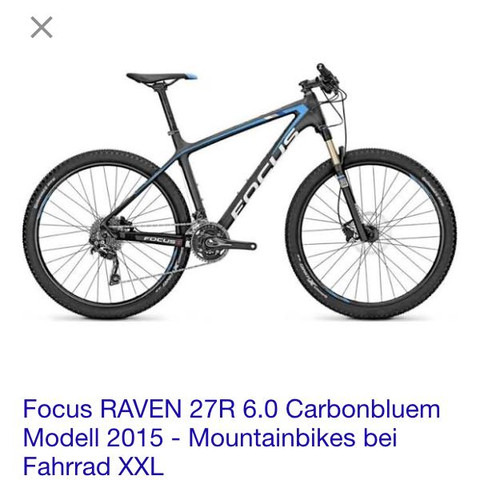 Focus Raven - (Fahrrad, Mountainbike, MTB)
