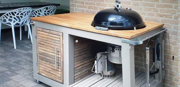 Welches Holz für Grillstation?