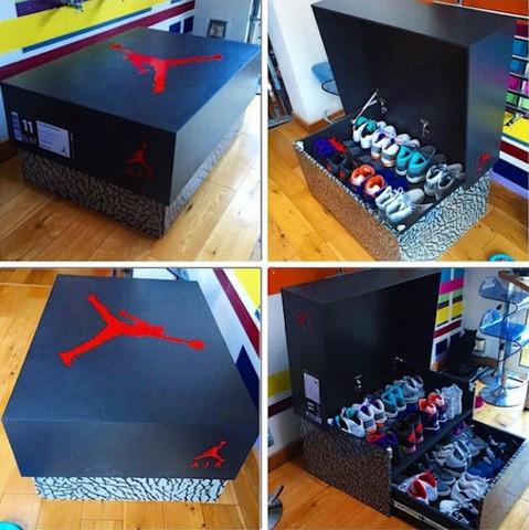 Kiste - (Schuhe, basteln, bauen)