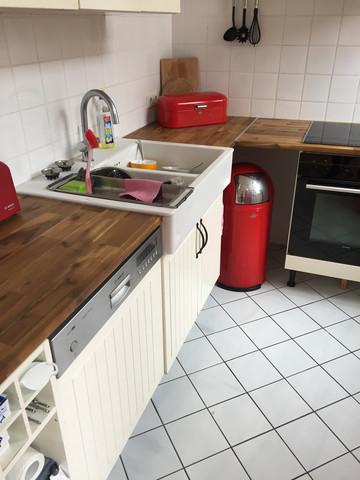 Arbeitsplatte - (Küche, Holz, Öl)