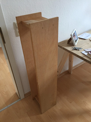 Regal - (Küche, Holz, Öl)