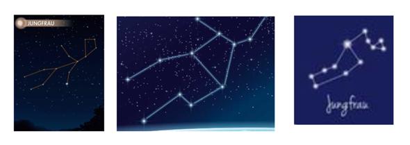 Welches ist denn nur wirklich das Sternbild der Jungfrau?