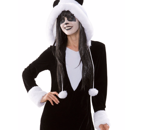https://fasching-at.buttinette.com/shop/a/buttinette-kleid-panda-90519 - (Kostüm, Karneval)