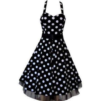 heiße neue Produkte schöner Stil großer Rabatt Welches kleid ist schöner? Mit Punkten oder Muster? (schoener)