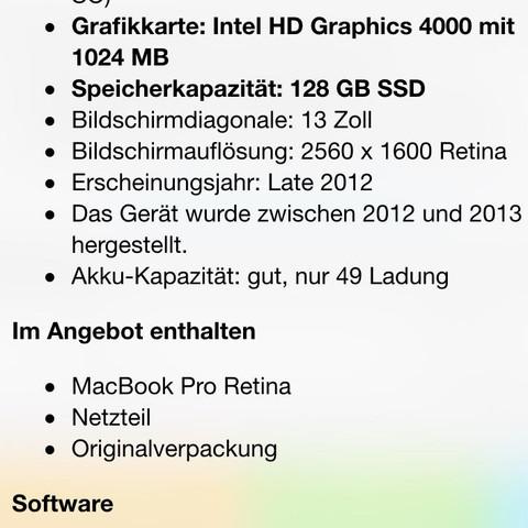 Macbook besch. - (kaufen, Ebay, Macbook)