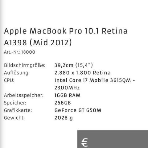 Oder das - (Apple, Mac, Macbook)