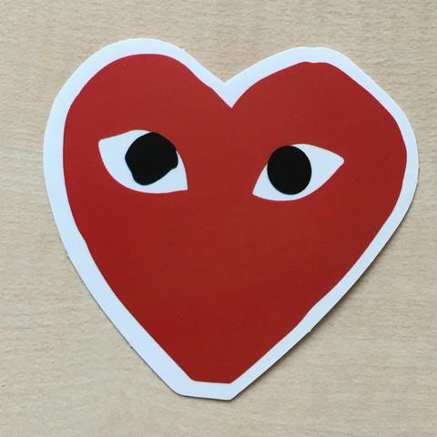 Das Herz mit den Augen. Welche Marke ist das ?  - (Mode, Augen, Klamotten)