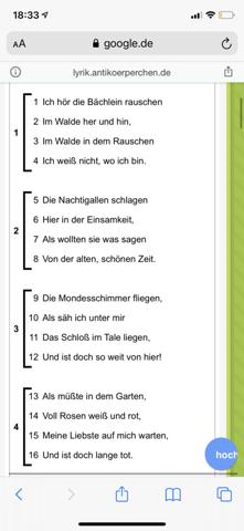 - (Deutsch, Gedicht)