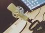hier des - (PC, Mikrofon)