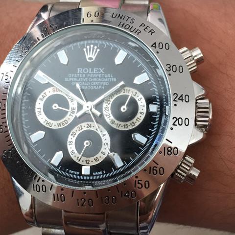 Hier ist die Rolex  - (Uhr, Model, danke)