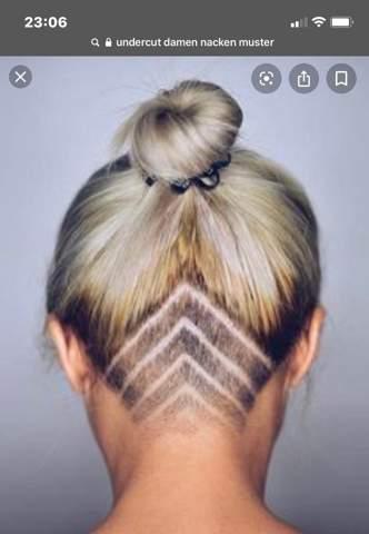 Welches Muster Soll Ich Machen Undercut Haare Schneiden