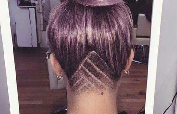 2 haare frisur muster - Muster In Haare Rasieren
