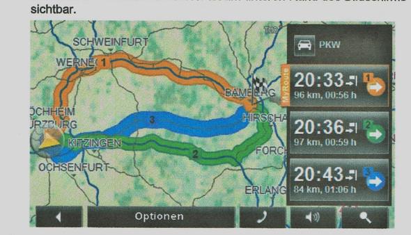MyRoutes Navigon - (Navigation, Navigationsgerät, MyRoutes)