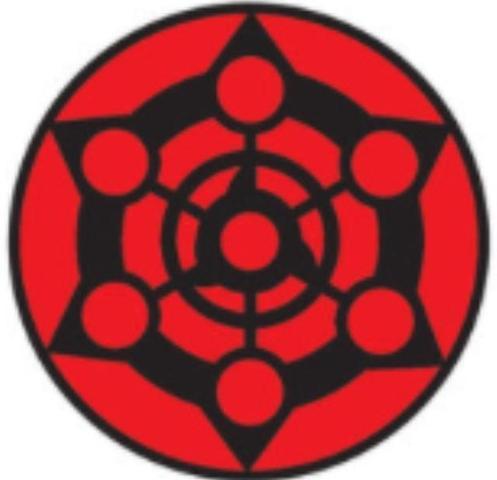 7. sharingan - (Anime, Manga, Naruto)