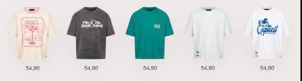Welches Shirt würdet ihr beim neuen Peso Drop Holen?