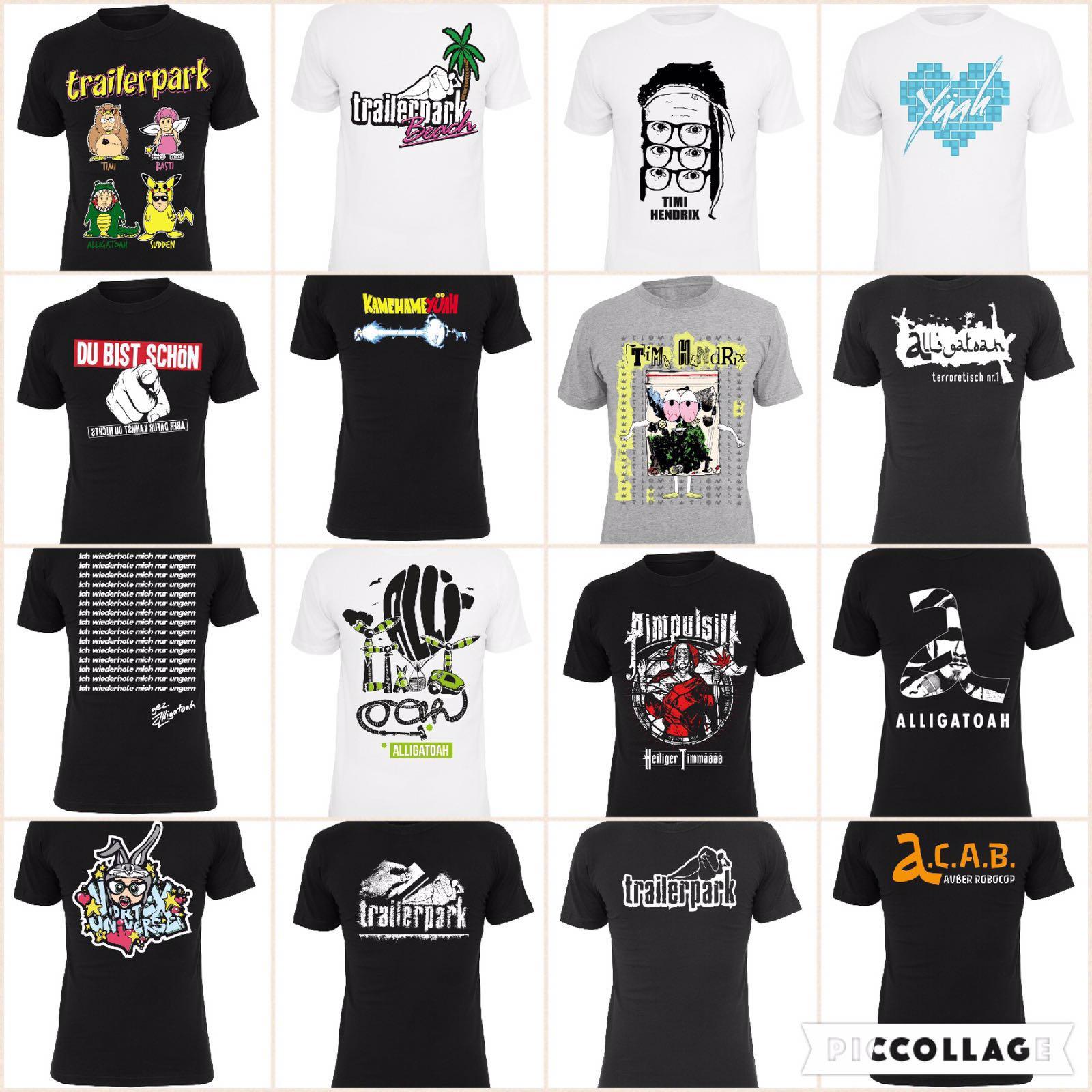Alligatoah T-shirt Ich Wiederhole Mich Musik Shirts & Hemden