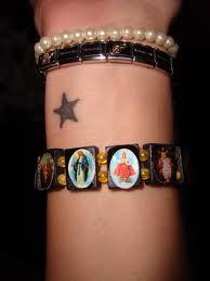 kleiner stern - (Tattoo, Handgelenk)
