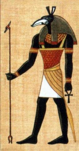 Ägyptischer Gott Seth - (Tiere, Wissenschaft, aegyptische-mythologie)