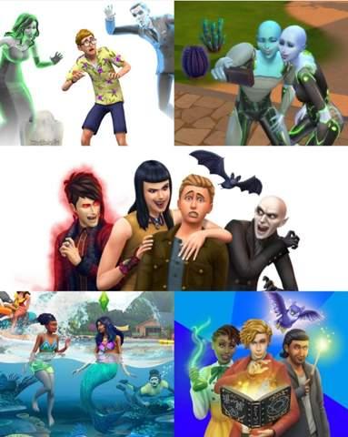 Welches Übernathütliche Wesen magst du am liebsten (Sims4)?