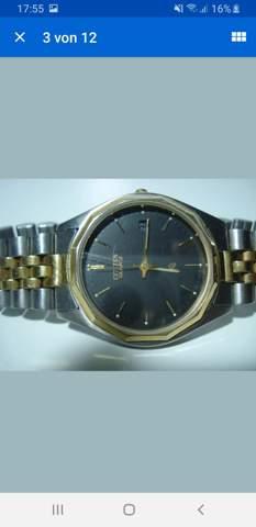 Welches Uhrenmodel habe ich Citizen?