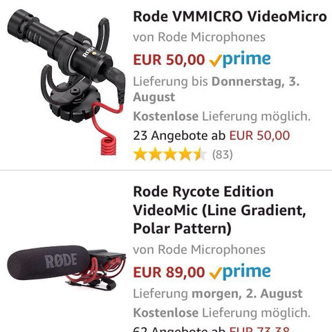 Welches? - (Mikrofon, Rode, vloggen)