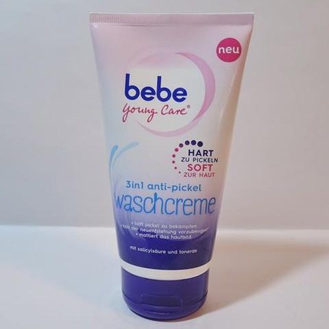 Bebe waschcreme 3 in 1 - (Haut, Pickel, Reinigung)