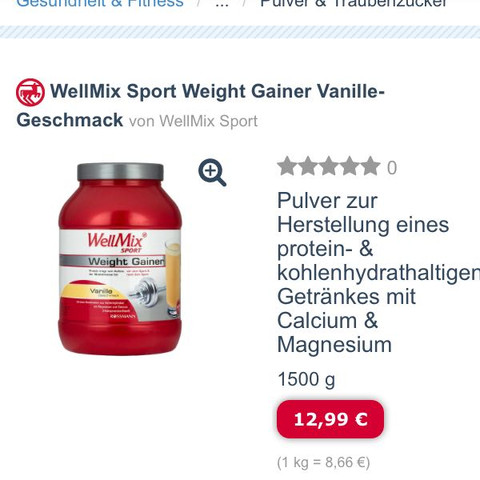 WellMix - (Sport, Fitness, Energie)