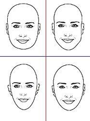 Frisur Kopfform Frisuren Testen