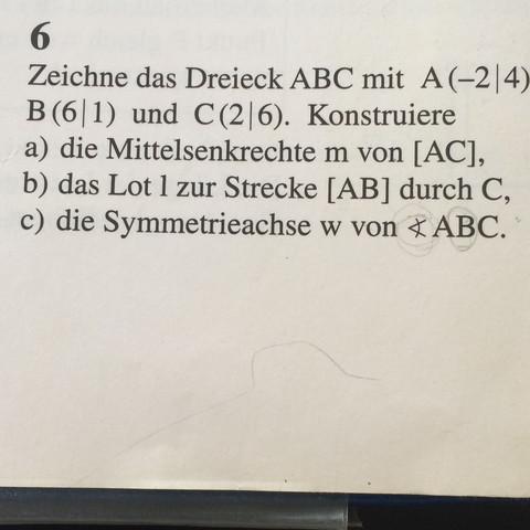 Hier die c)  - (Schule, Mathe, lernen)
