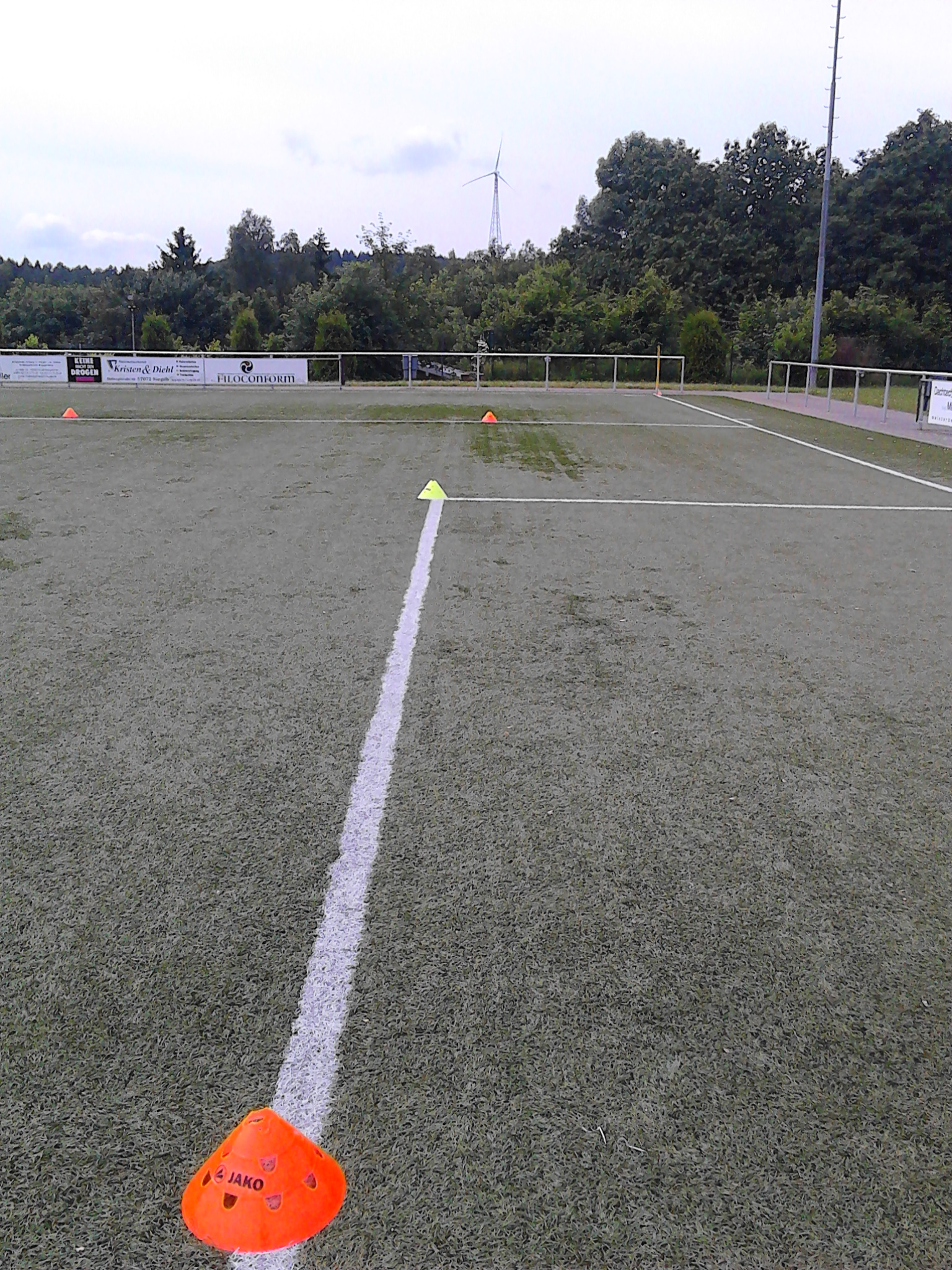 E-Jugend Spielfeld