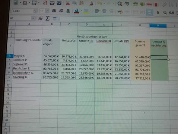 - (PC, Excel, EDV)