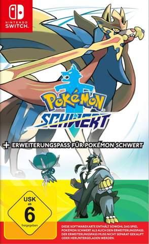 Wenn ich Pokemon Schwert mit Erweiterungspass gebraucht kaufe, kann ich den Erw. Pass dann spielen?