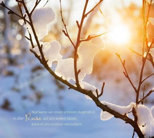 Wenn Schnee liegt ist es als wenn die Natur den Atem anhält. Warum ist es so leise wenn eine Schneedecke die Landschaft überzieht?