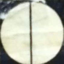 Weisser Kreis mit schwarzem Strich/Diagonale - (Logo, Auktion, kunstgalerie)
