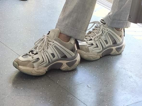 Wer erkennt Schuhmodell - Retro Diesel Sneaker Herren?