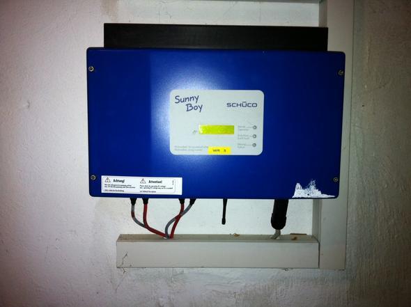 Wechselrichter Vorderansicht - (Elektronik, Photovoltaik, wechselrichter)