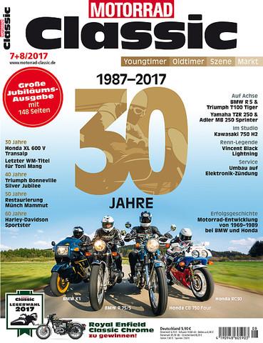 30 Jahre Classic Motorrad - (Motorrad, Gewinnspiel, Oldtimer)