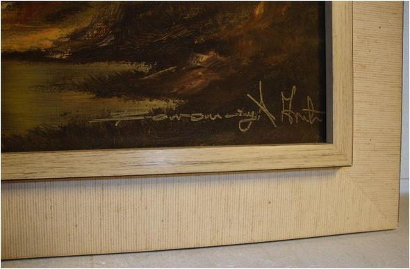 signatur des malers - (Name, Kunst, Maler)