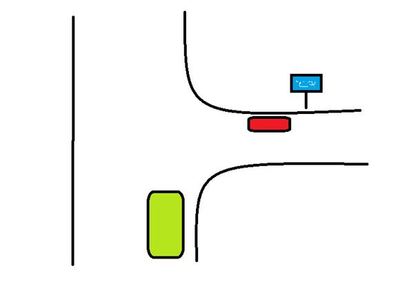 Wer Hat Vorfahrt Spielstraße Auto Führerschein Verkehr