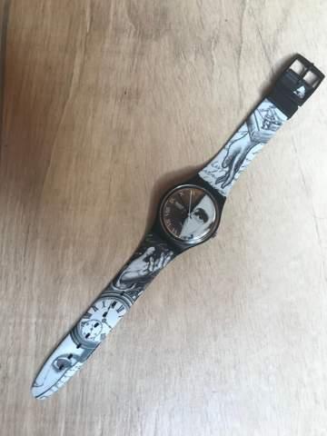 Wer ist das auf dieser Uhr?
