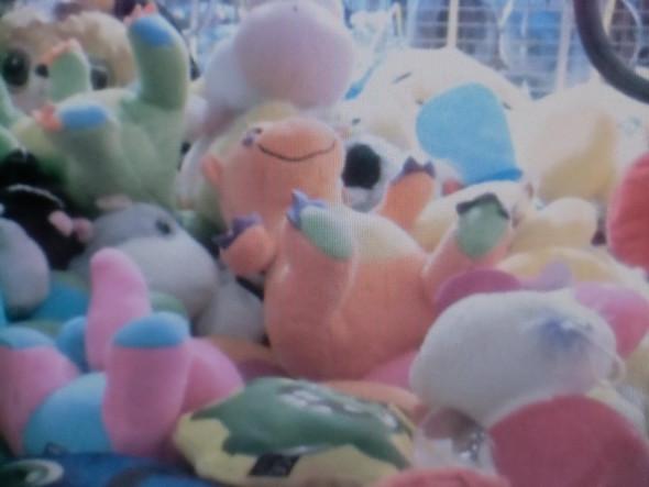 orangefarbenes Stofftier - (Drachen, Orange, Teddy)