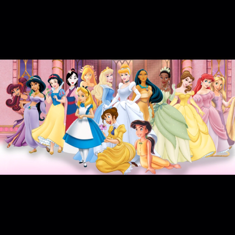 Alle Prinzessin