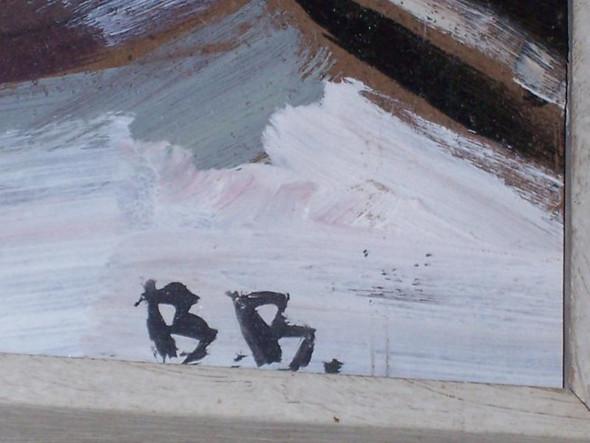 b.b - (Künstler, Maler, Gemälde)